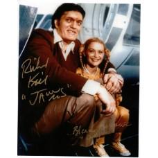 Richard Kiel & Blanche Ravalec